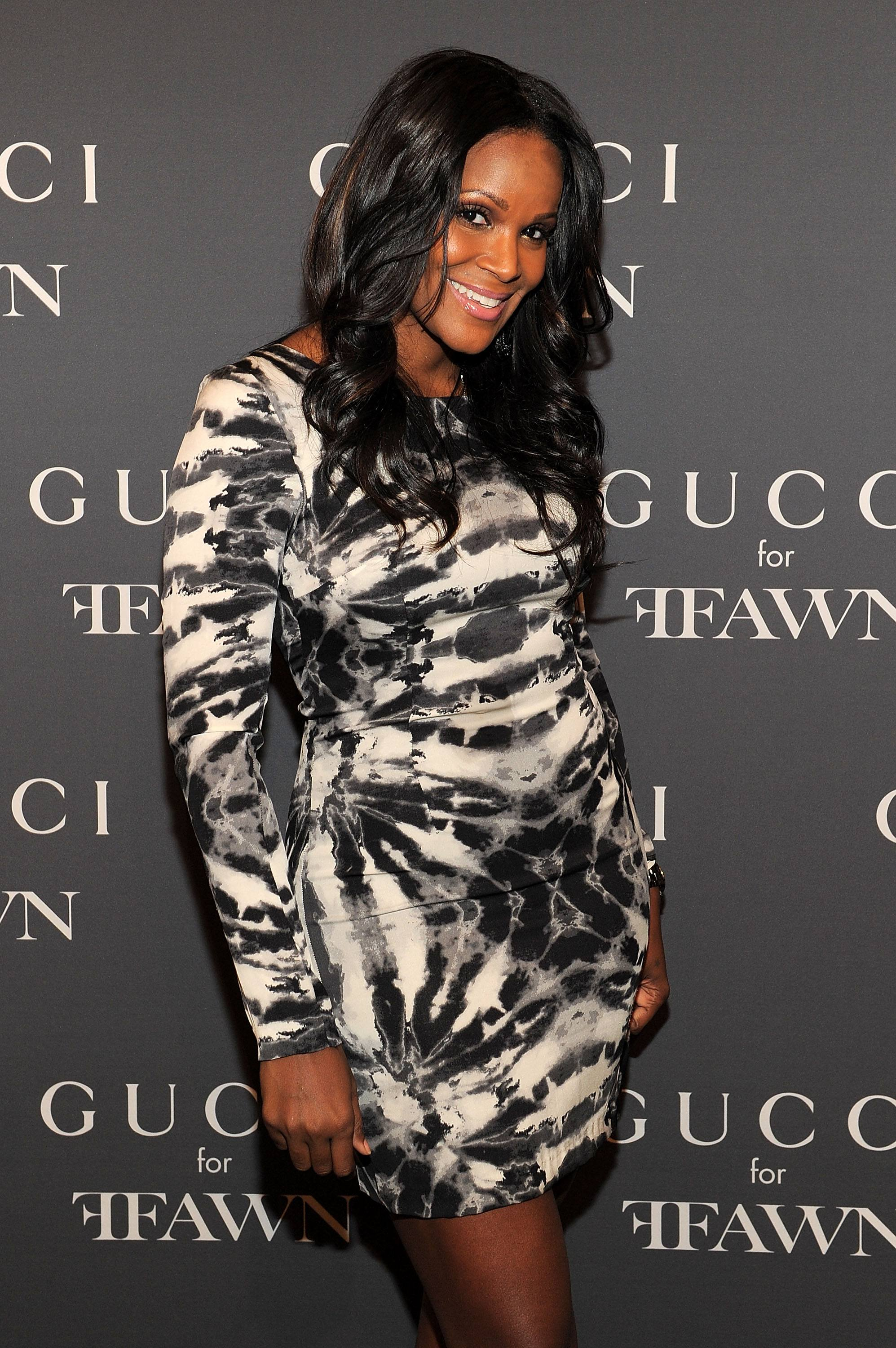 Tameka Foster attends the Gucci celebration of Fashion's Night Out at Gucci Fifth Avenue on September 10, 2010 in New York City.