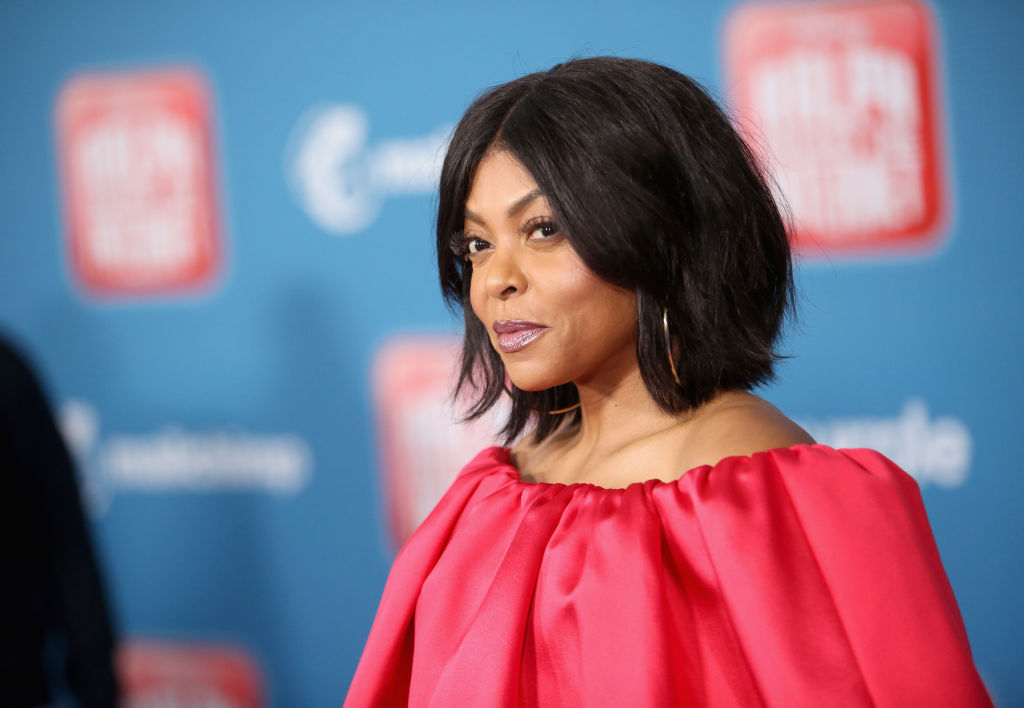 "Taraji P. Henson attends the World Premiere of Disney's ""RALPH BREAKS THE INTERNET"" at the El Capitan Theatre on November 5, 2018 in Hollywood, California."