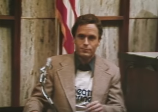Ted Bundy on the stand