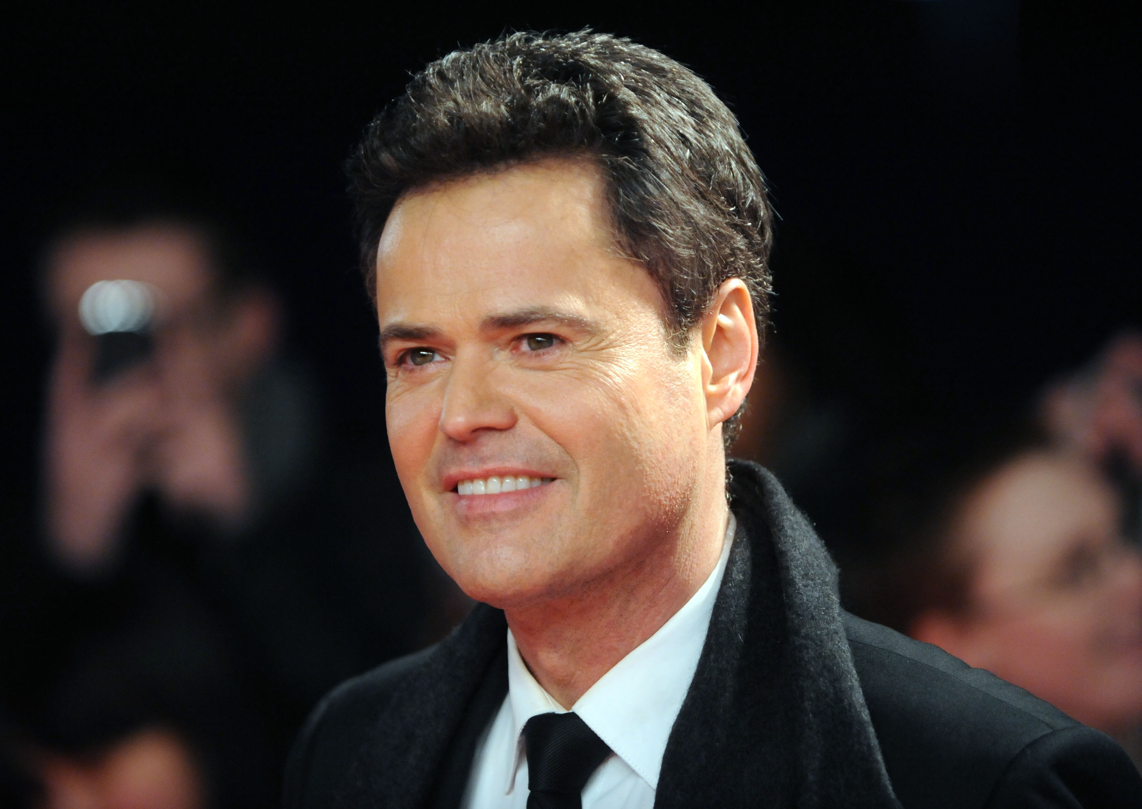 Donny Osmond -- is he The Masked Singer Peacock? Fans think so.