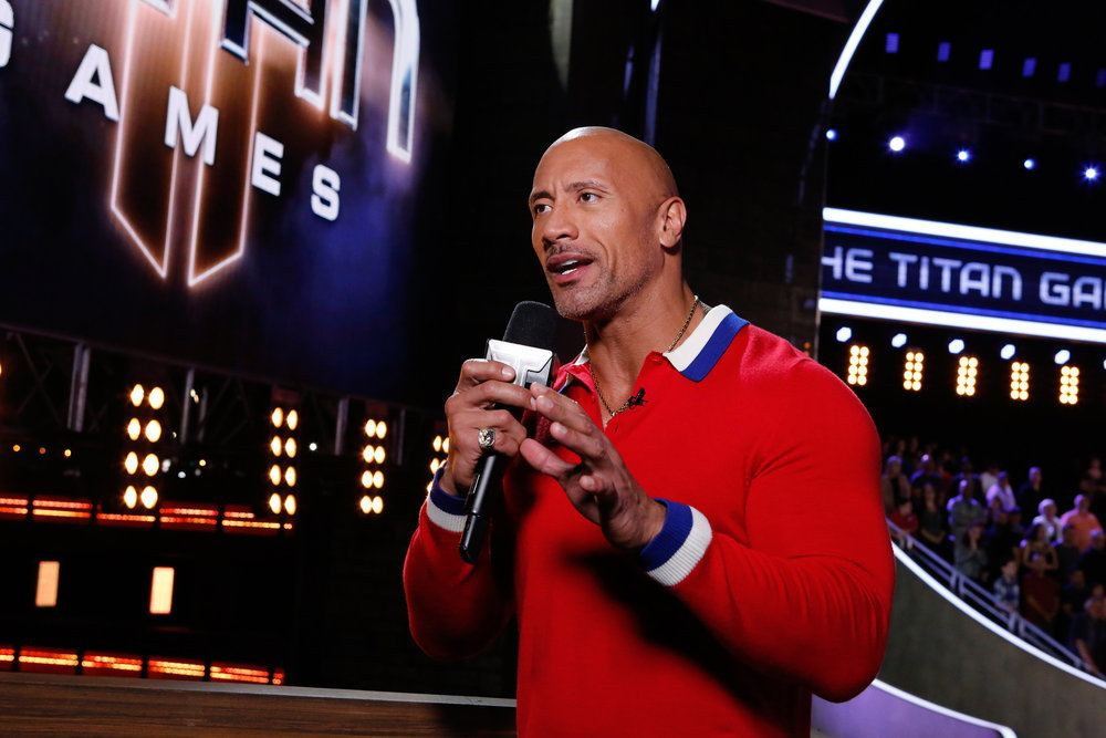 Dwayne Johnson hosts NBC's 'The Titan Games'