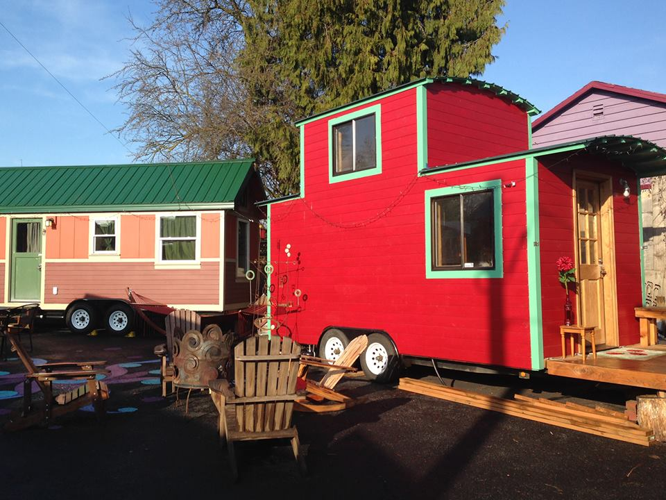 Two tiny houses