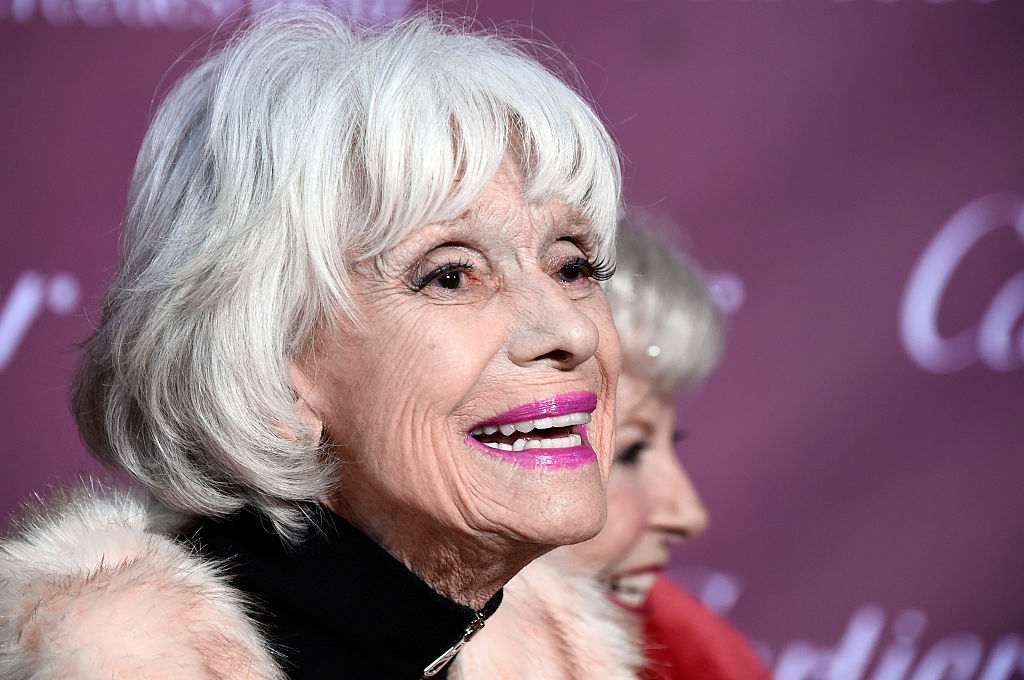 Carol Channing attends the 26th Annual Palm Springs International Film Festival Awards Gala at Parker Palm Springs on January 3, 2015 in Palm Springs, California.