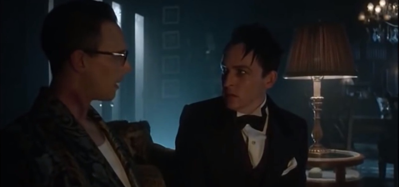 Nygma and Cobblepot in Gotham