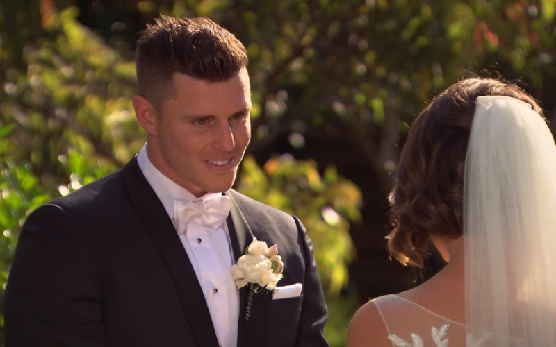 Xavier Forsberg and Simone Lee Brennan on Married at First Sight Australia
