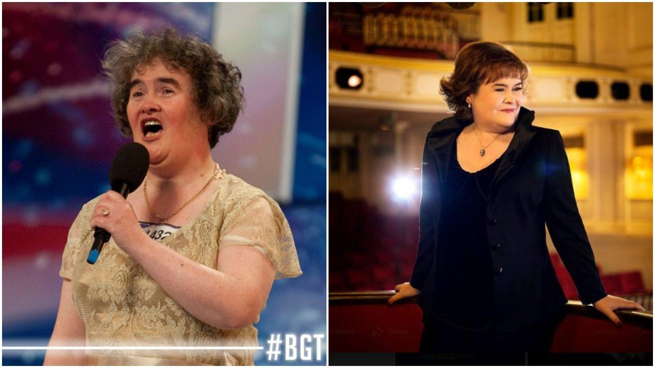 Susan Boyle weight loss