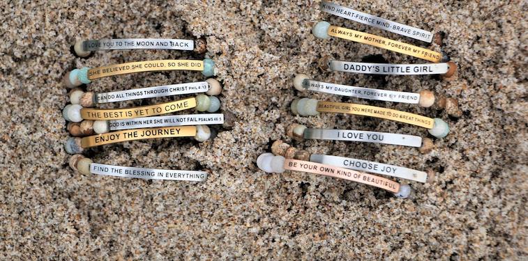 """Inspire Me"" Bracelets"