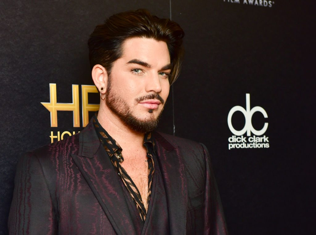 Queen's Adam Lambert at the Hollywood Film Awards Rodin Eckenroth/Getty Images