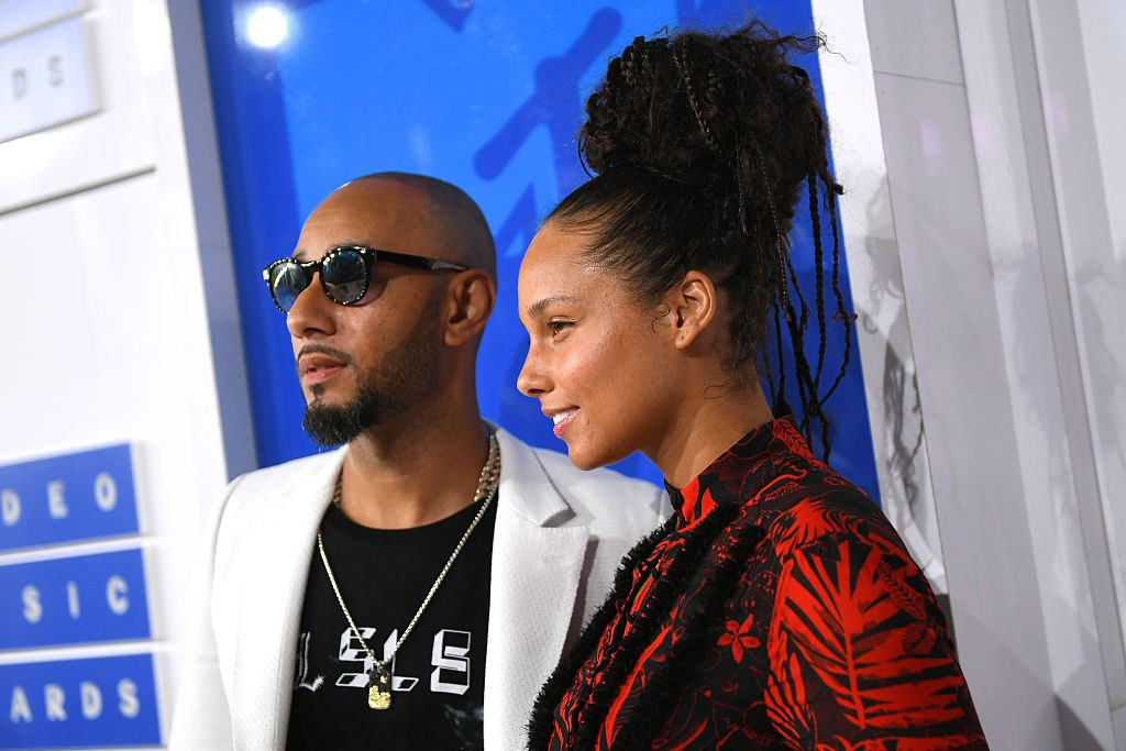 Swizz Beatz and Alicia Keys attend the 2016 MTV Video Music Awards on August 28, 2016 in New York City.