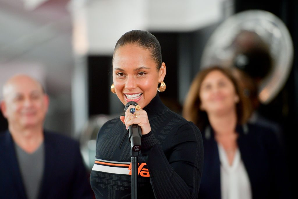 Alicia Keys attends the 61st Annual GRAMMY Awards Red Carpet Roll Out and Preview Day at Staples Center on February 07, 2019 in Los Angeles, California.| Matt Winkelmeyer/Getty Images