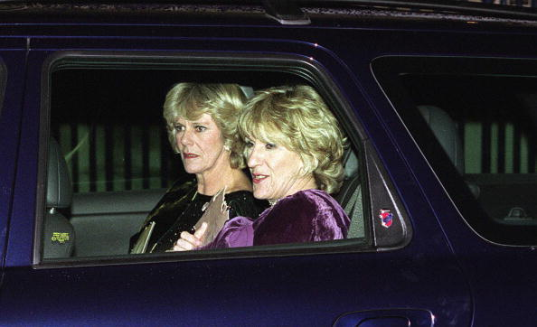 Camilla Parker-bowles And Her Sister, Annabel Elliot, Leaving A Musical Recital At Spencer House