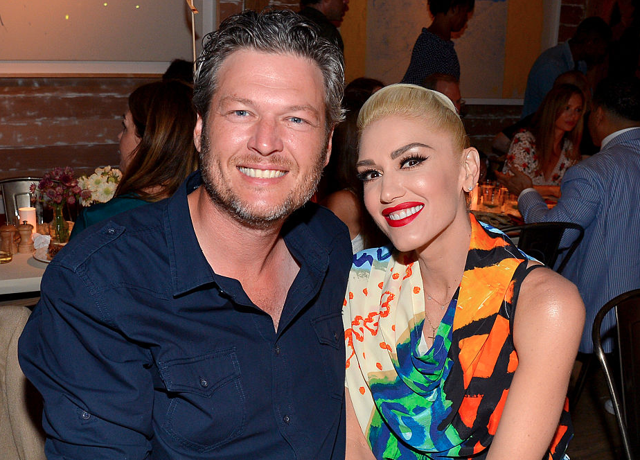 Blake and Gwen enjoying time with each other