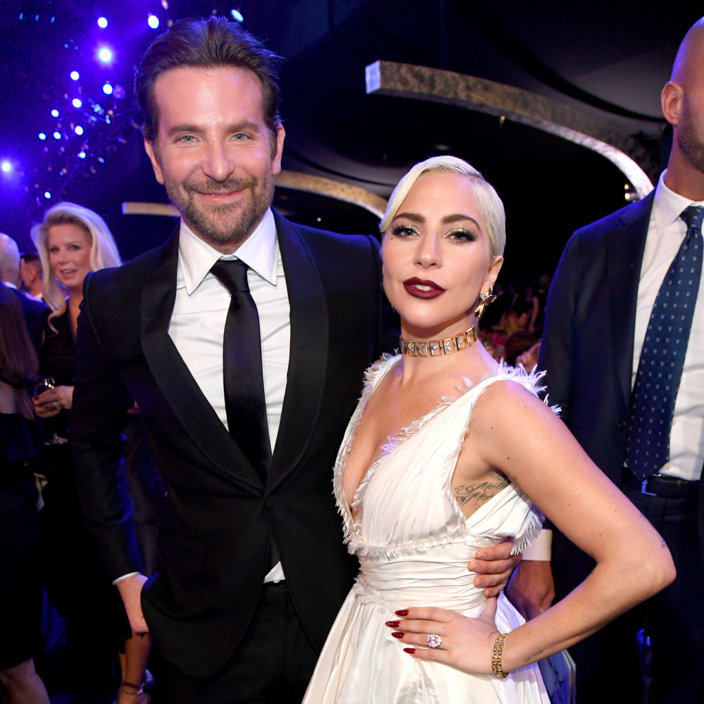 Bradley Cooper and Lady Gaga   Kevin Mazur/Getty Images for Turner