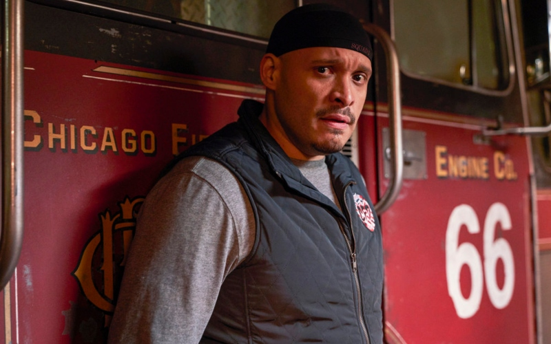 Joe Minoso as Joe Cruz on Chicago Fire
