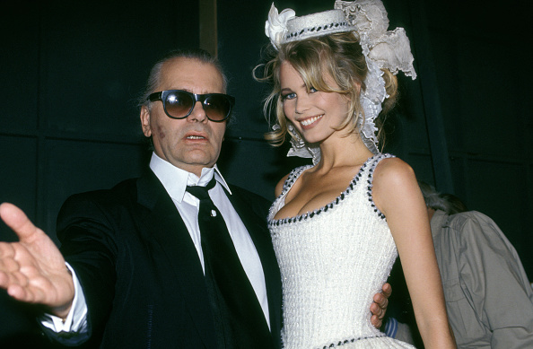 These Are the Models Karl Lagerfeld Worked with the Most