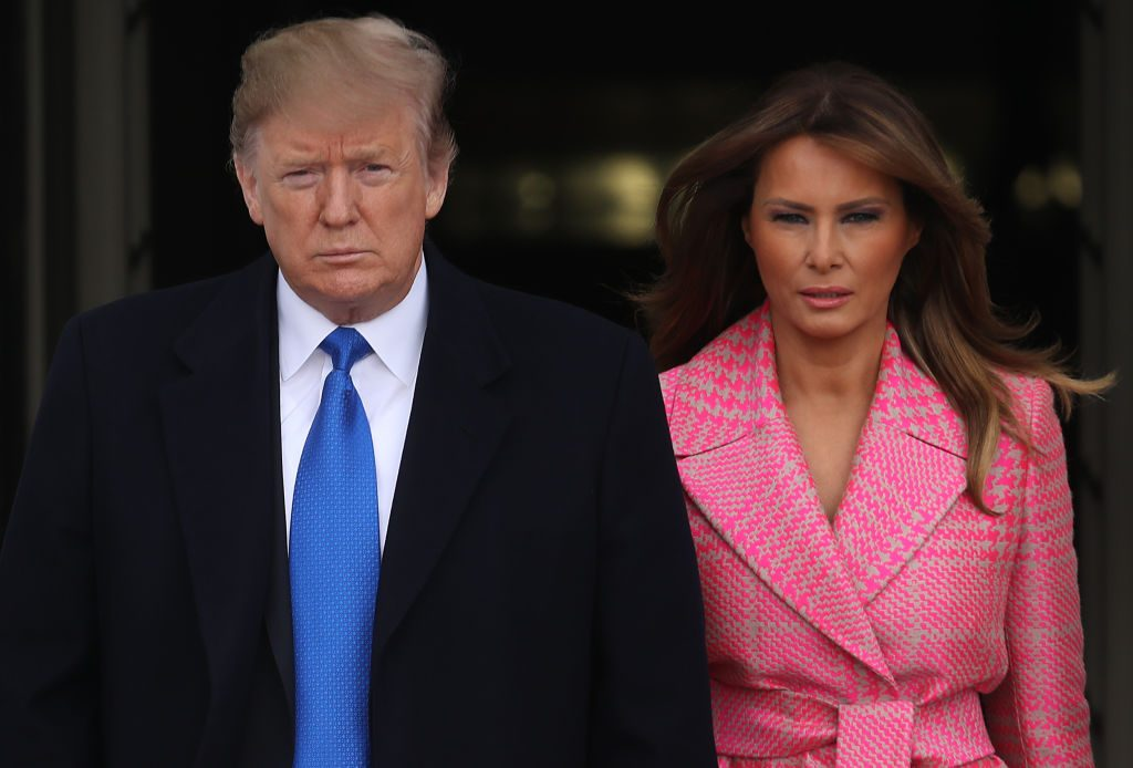 Donald and Melania Trump    Win McNamee/Getty Images