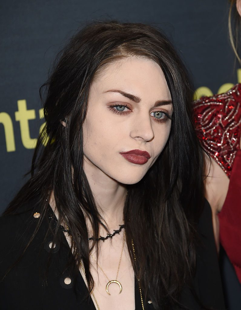 Frances Bean Cobain attends HBO's 'Kurt Cobain: Montage Of Heck' Los Angeles Premiere at the Egyptian Theatre on April 21, 2015 in Hollywood, California.   Jason Merritt/Getty Images