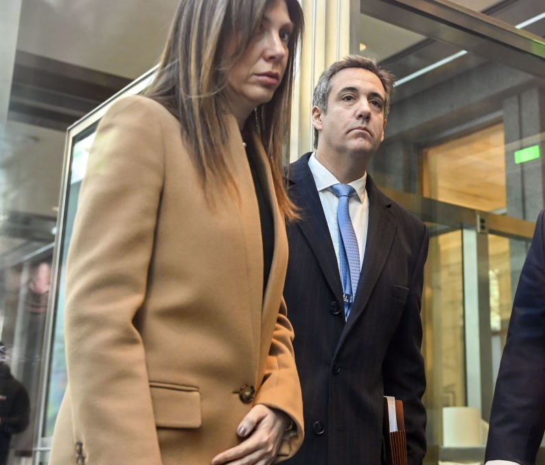 Michael Cohen and his wife, Laura Shusterman