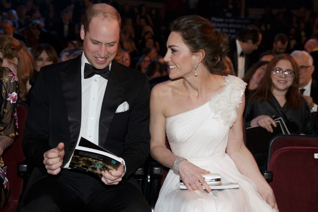 Will and Kate at the BAFTAs 2019