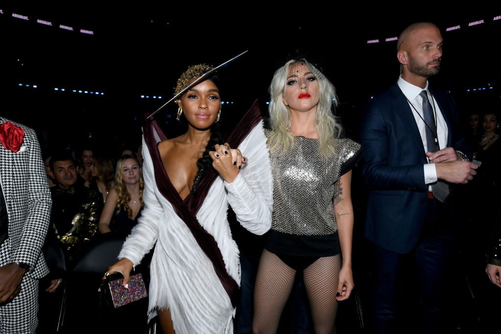 61st Annual GRAMMY Awards - Janelle Monae and Lady Gaga