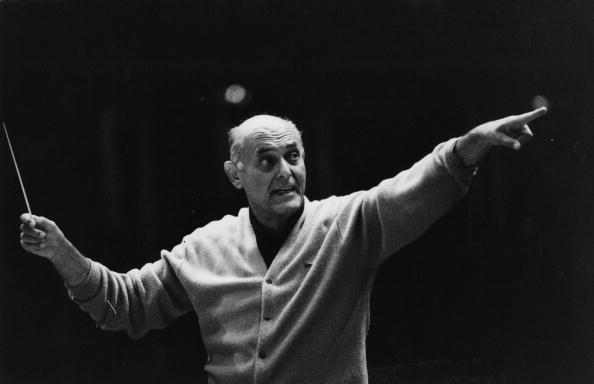 Georg Solti conducting
