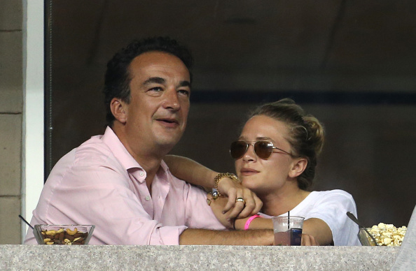 Mary Kate and Olivier Sarkozy