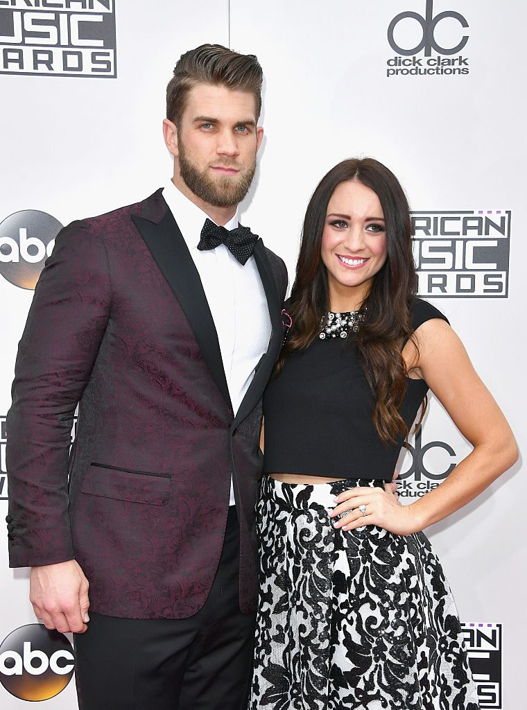 Bryce Harper and Kayla Varner