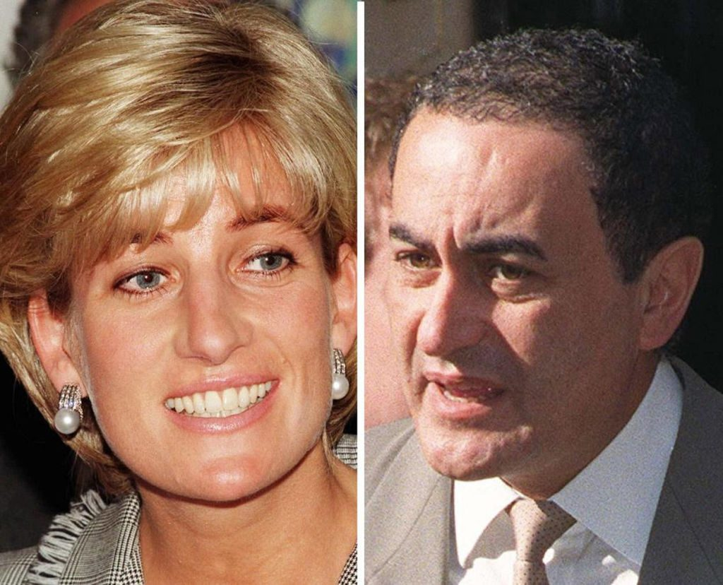 Diana Princess of Wales and Dodi Fayed