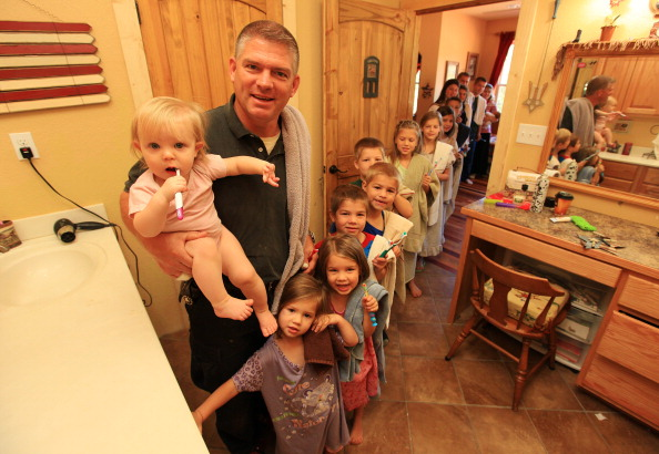"The Bates family from ""Bringing Up Bates"""