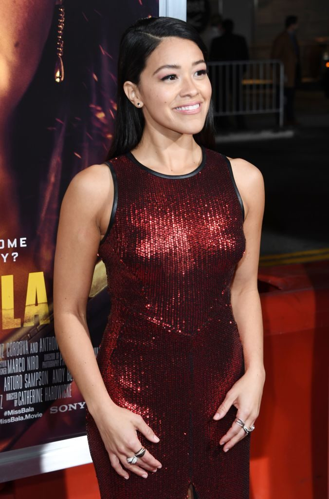 """Gina Rodriguez arrives for the premiere of """"Miss Bala"""""""