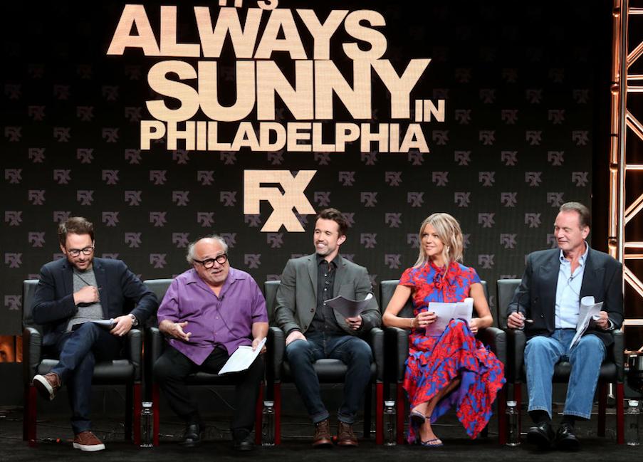 'It's Always Sunny' cast