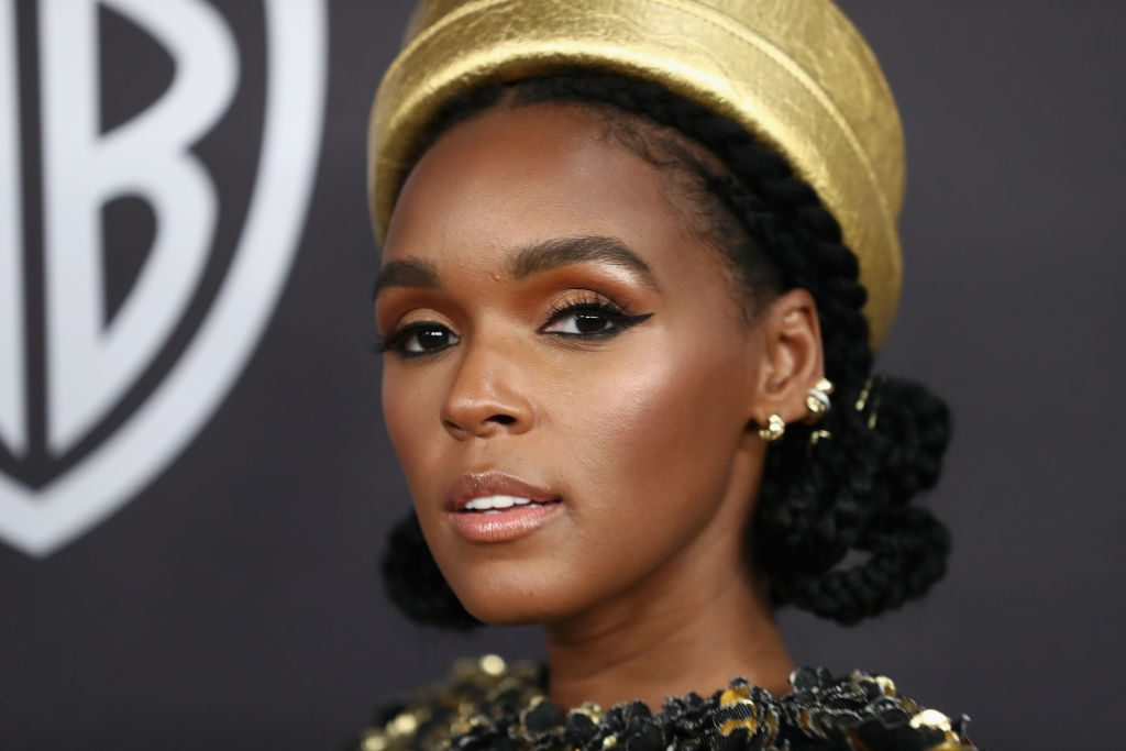 Janelle Monáe attends the InStyle And Warner Bros. Golden Globes After Party 2019 at The Beverly Hilton Hotel on January 6, 2019 in Beverly Hills, California.
