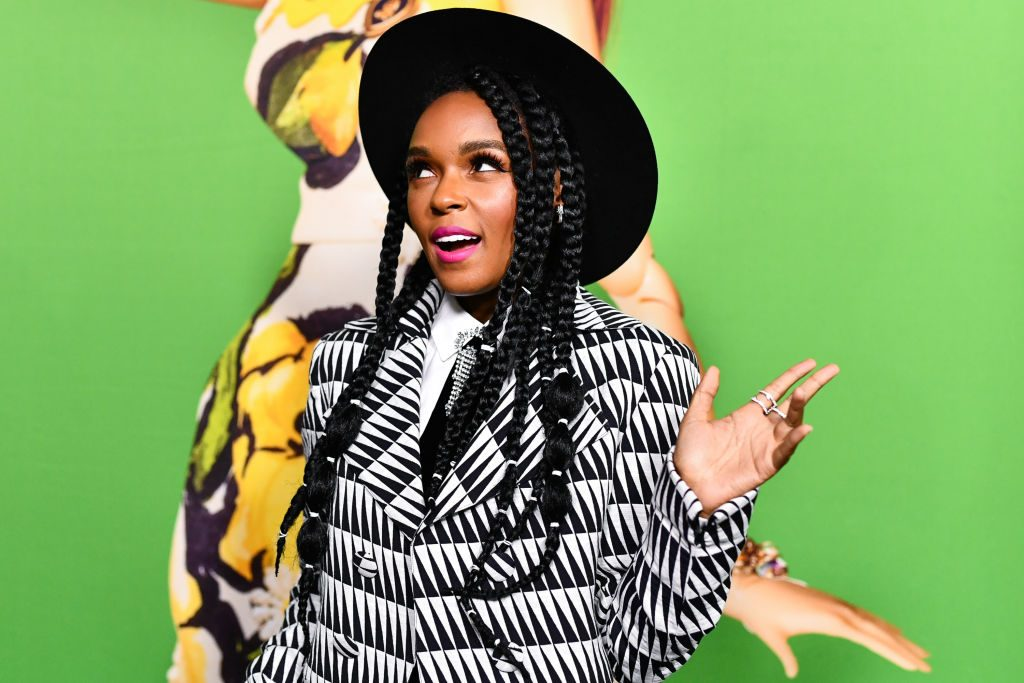 """Janelle Monae attends Universal Pictures And DreamWorks Pictures' premiere of """"Welcome To Marwen"""" at ArcLight Hollywood on December 10, 2018 in Hollywood, California."""