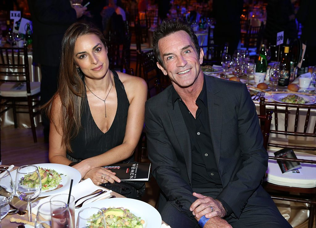 Lisa Ann Russell and TV Personality Jeff Probst
