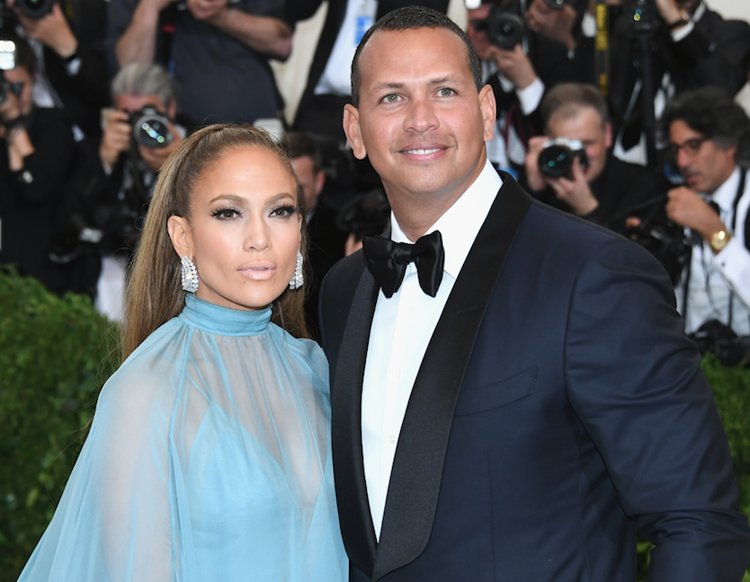 JLo and A-Rod happy together