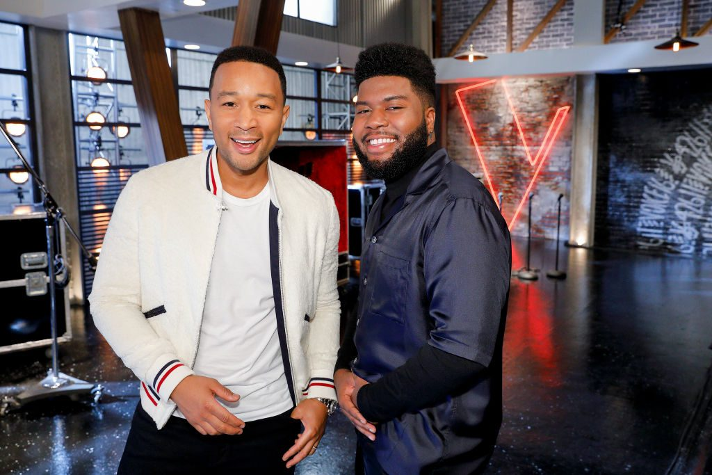 John Legend and Khalid
