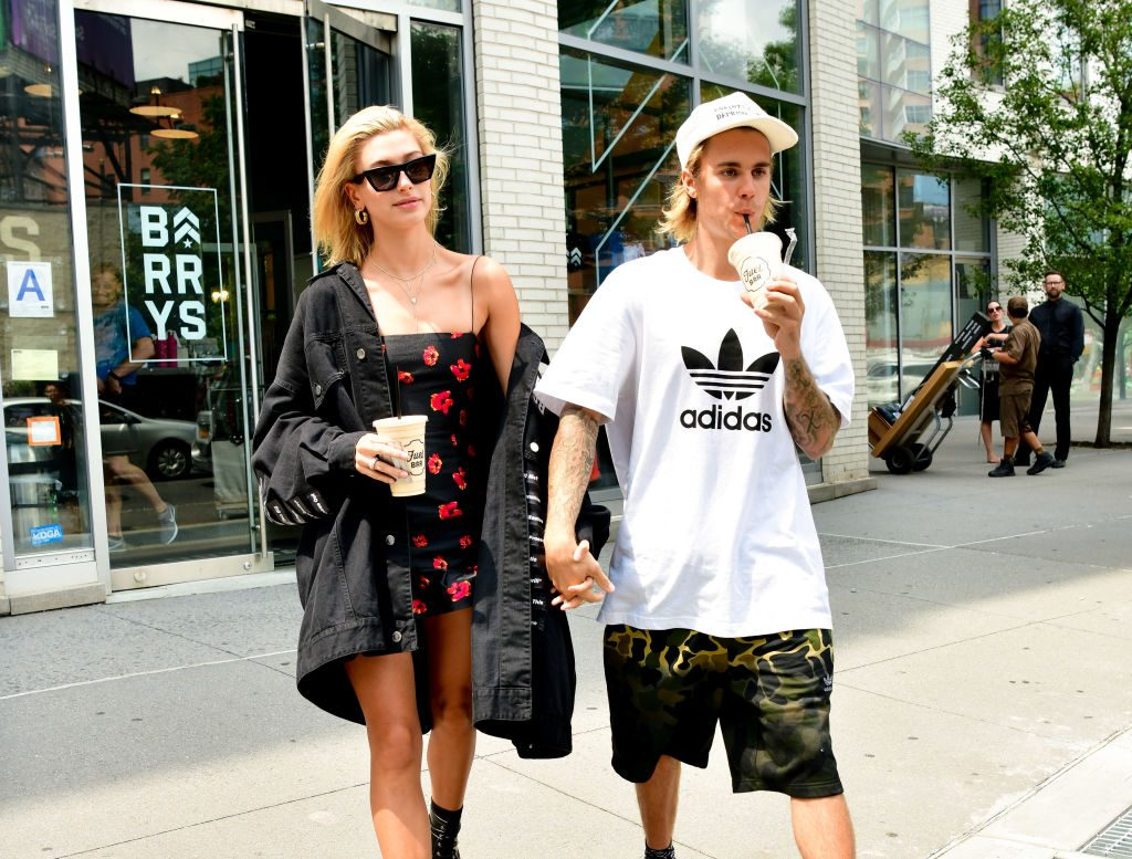 Justin Bieber and Hailey Baldwin | James Devaney/GC Images