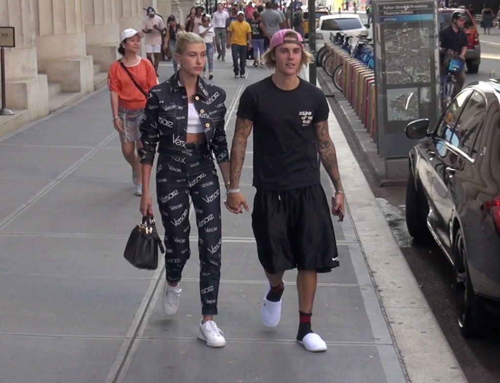 Justin Bieber and Hailey Baldwin |  Hollywood To You/Star Max/GC Images