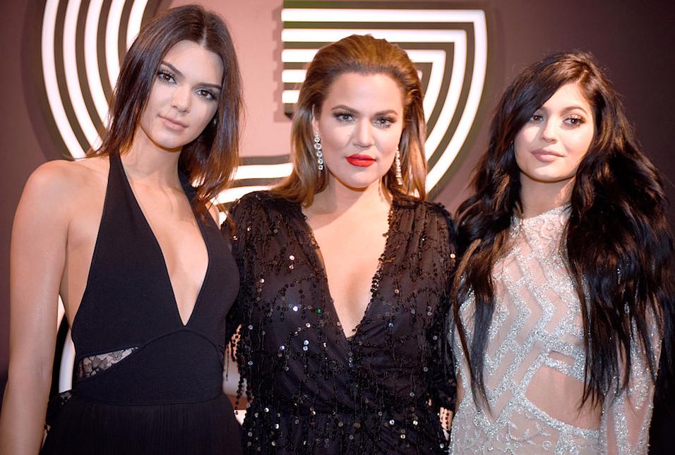 The Kardashian-Jenner sisters