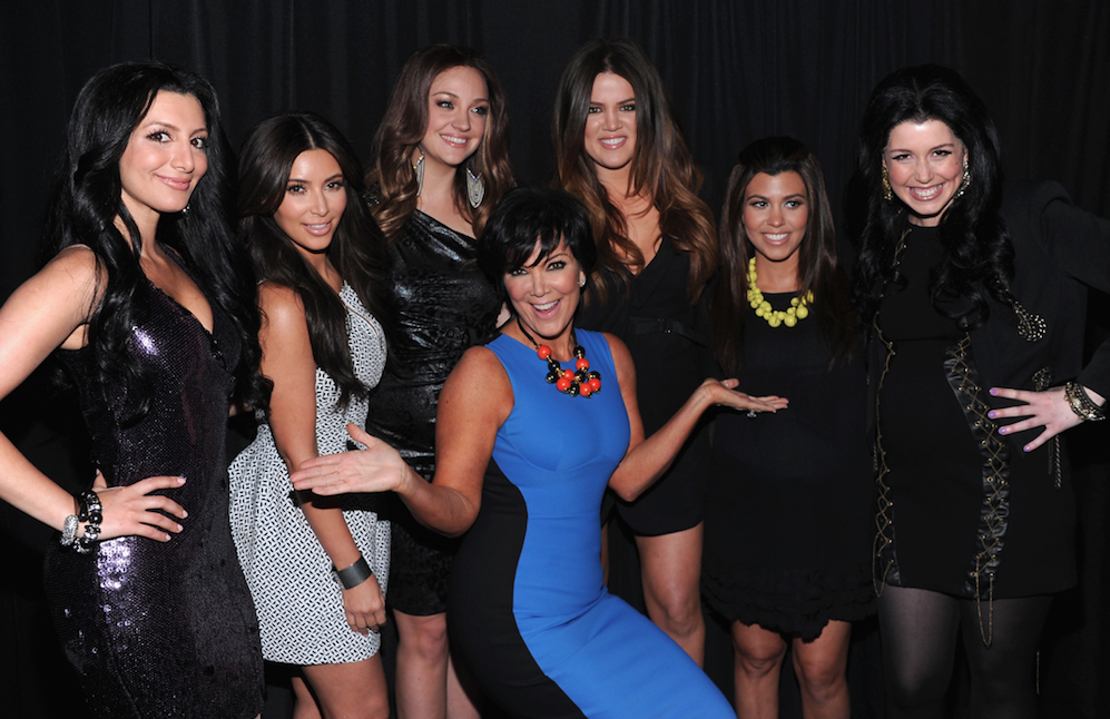 The Kardashian family collectively