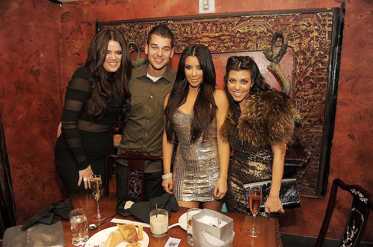 Khloe Rob Kim Kourtney Kardashian