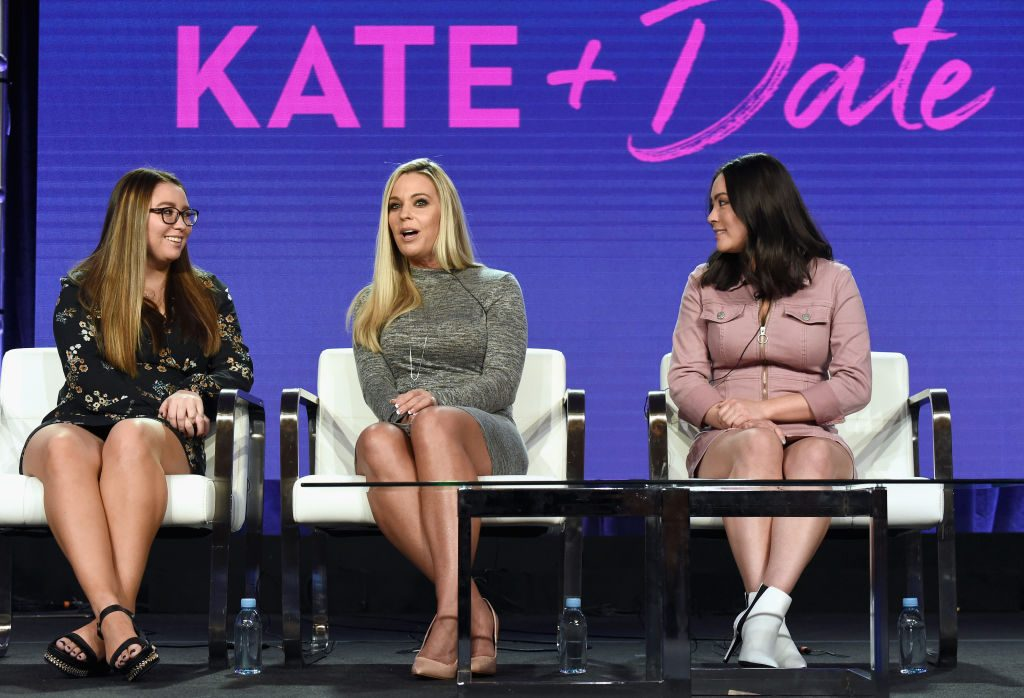 Cara Gosselin, Kate Gosselin, and Mady Gosselin of 'Kate Plus Date'