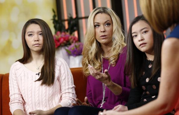 Cara Gosselin, Kate Gosselin, and Mady Gosselin