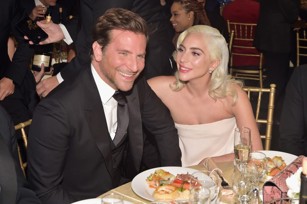 Bradley Cooper (L) and Lady Gaga attend the 24th annual Critics' Choice Awards