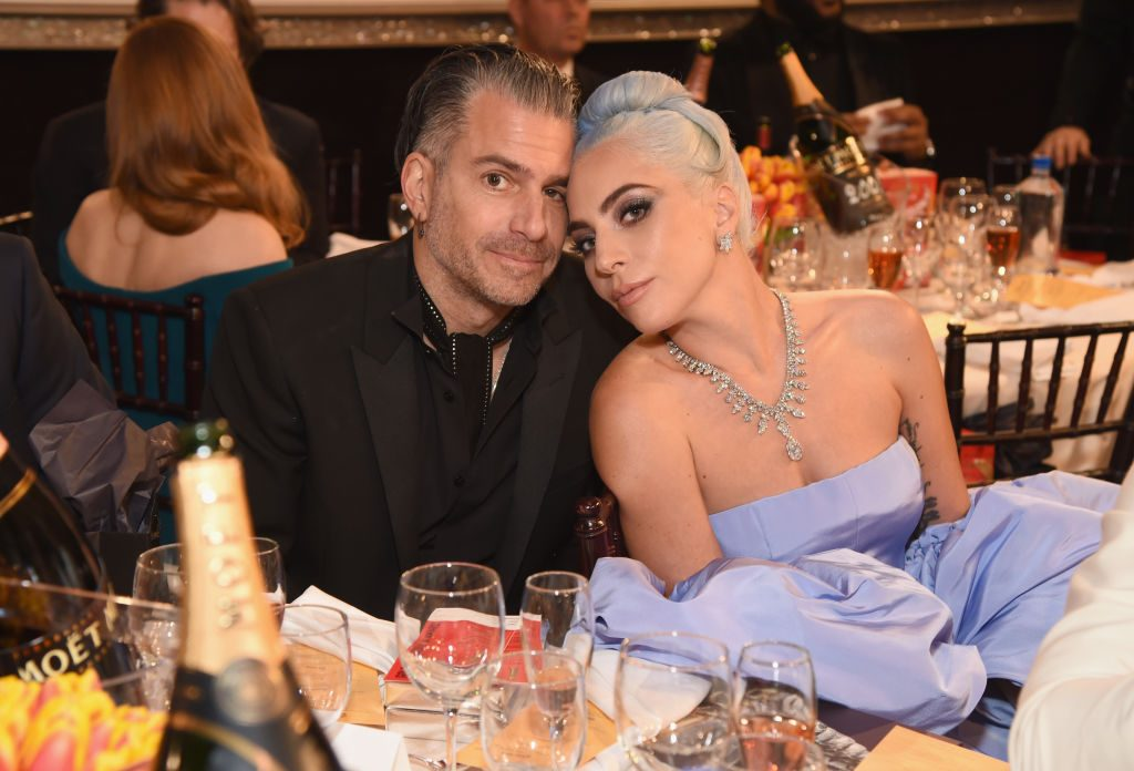 Christian Carino and Lady Gaga