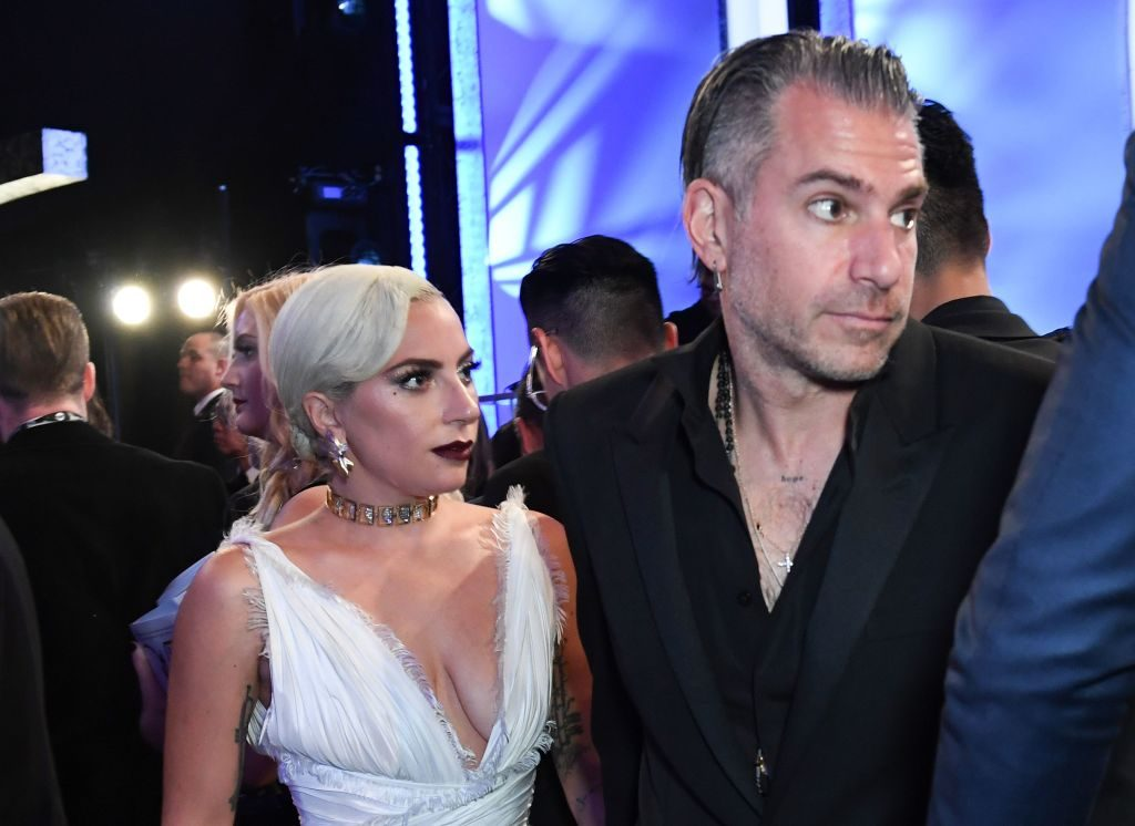 Lady Gaga and Christian Carino   Valerie Macon/AFP/Getty Images