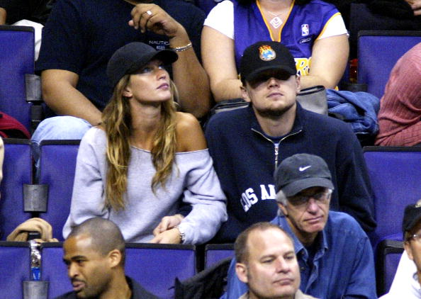 Leonardo Di Caprio and model Gisele Bundchen