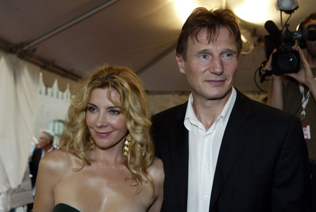 Liam Neeson and Natasha Richardson arrive on the red carpet for the gala screening of Kinsey during the 29th Annual Toronto International Film Festival on September 12, 2004 in Toronto, Canada.