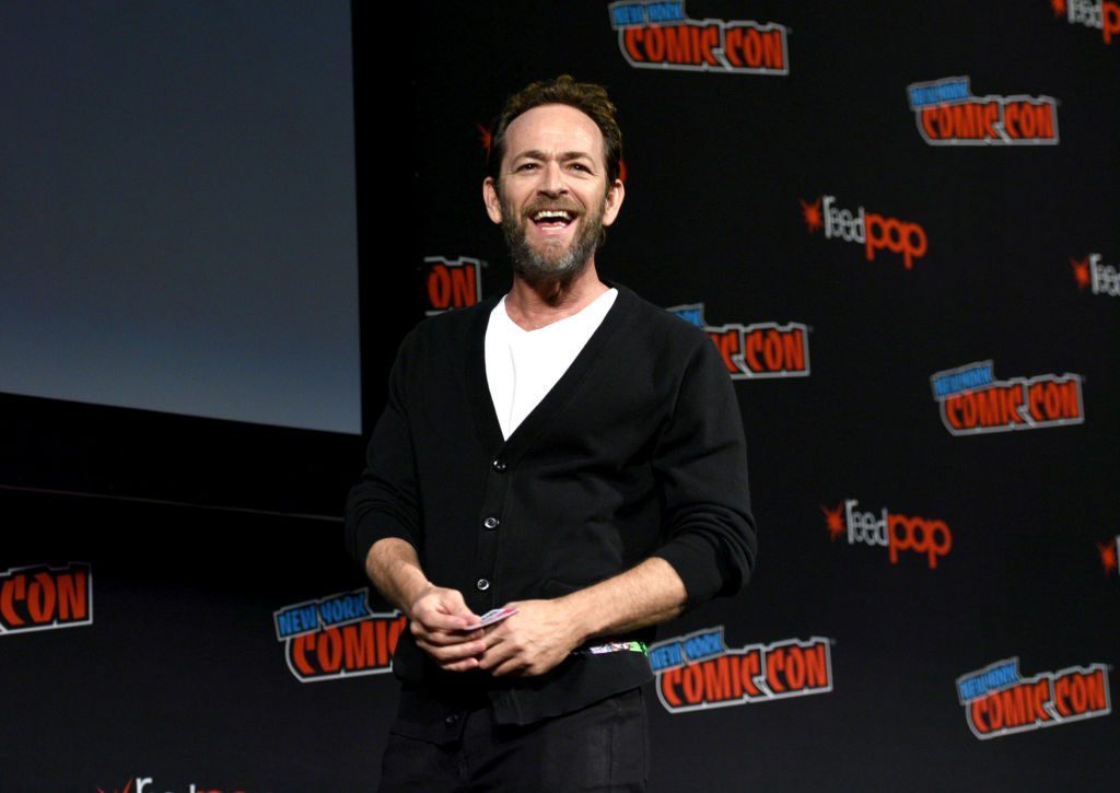 Luke Perry at Comic Con | Andrew Toth/Getty Images for New York Comic Con