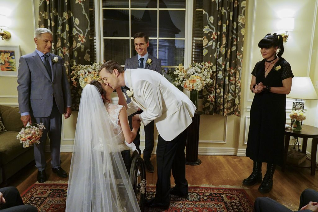 McGee and Delilah get married | Sonja Flemming/CBS via Getty Images